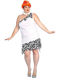 The Flintstones Wilma Plus  Adult Costume by Rubie's Costume Co