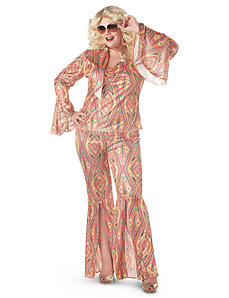 Disco-licious   Dancer Adult Plus Costume by California Costume Collection