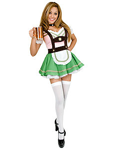 Bavarian Beer Garden Girl Adult Plus by Charades Costumes