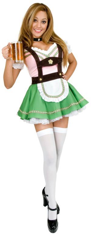 Bavarian Beer Garden Girl Adult Plus