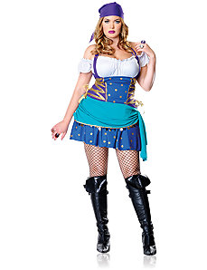 Gypsy Princess Adult Plus Costume by Leg Avenue