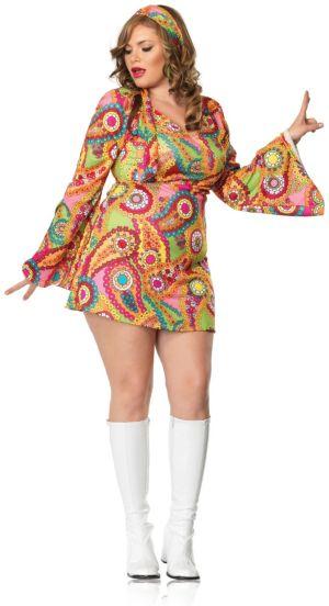 Hippie Chick Dress Costume