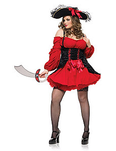 Vixen Pirate Wench Costume by Leg Avenue