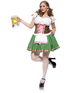 Gretchen Plus Adult Costume by Leg Avenue