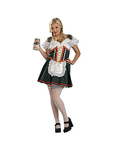 Beer Garden Girl Plus Adult Costume by Rubie's Costume Co