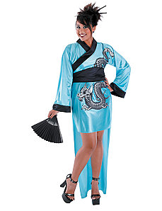 Dragon Geisha Adult Costume by Disguise