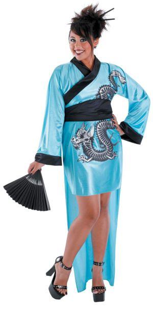 Dragon Geisha Costume