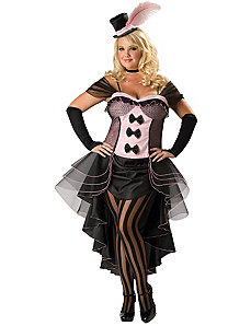 Burlesque Babe Adult Plus Costume by In Character Costumes