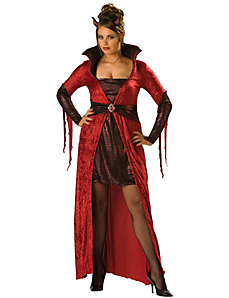 Seductive Devil Adult (Plus) Costume by In Character Costumes
