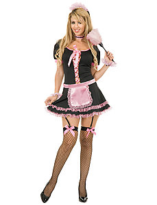 Midnight Maid  Adult Plus Costume by Charades Costumes