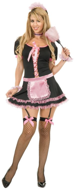 Midnight Maid Adult Plus Costume