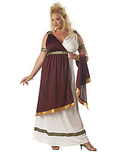 Roman Empress Adult (Plus) Costume by California Costume Collection