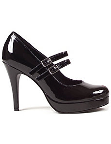 Black Jane Shoes by ELLIE SHOES