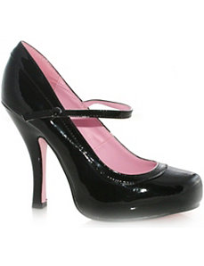 Babydoll (Black) Adult Shoes by ELLIE SHOES