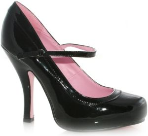 Babydoll (Black) Adult Shoes