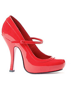 Babydoll (Red) Adult Shoes by ELLIE SHOES