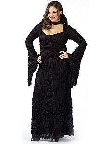Graveyard Vampiress Adult (Plus) Costume by Fun World