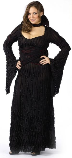 Graveyard Vampiress Adult (Plus) Costume