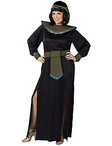 Black/Gold Cleopatra Adult Plus Costume by Fun World