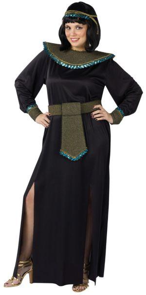 Black/Gold Cleopatra Costume