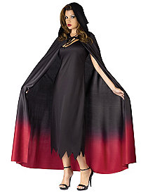 Ombre Hooded Adult Cape by Fun World