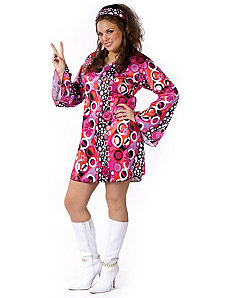 Feelin' Groovy Adult Plus Costume by Fun World