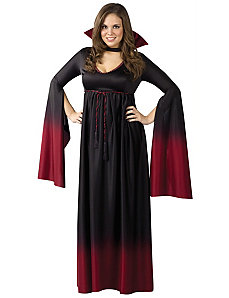 Blood Vampiress Adult Plus Costume by Fun World