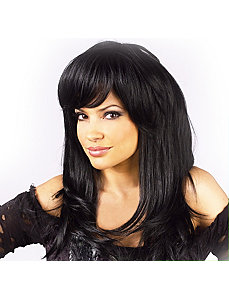 Trendsetter Black Wig by Fun World