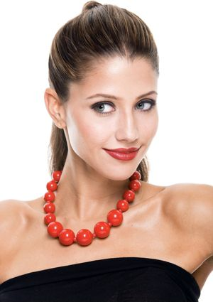 French Kiss Beaded Necklace
