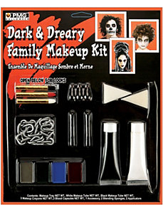 Dark and Dreary Family Makeup Kit by Paper Magic Group