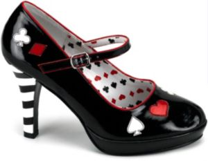 Sexy Queen of Hearts Shoes