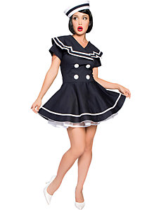 Pin-up Captain Adult Plus Costume by Roma Costume, Inc.
