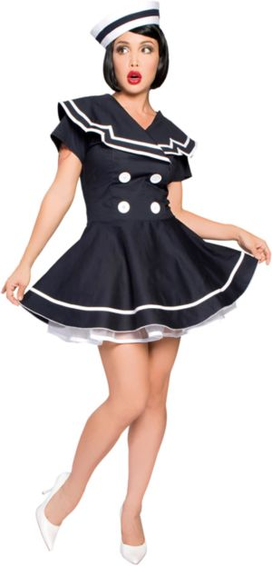 Pin-up Captain Costume