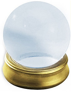 Crystal Ball with Stand by Forum Novelties Inc