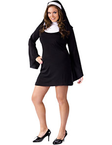 Naughty and Nice Nun Adult Plus Costume by Fun World