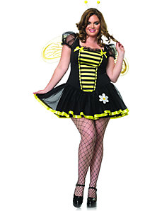 Daisy Bee Adult Plus Costume by Leg Avenue