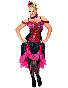 Madame Can Can Adult Plus Costume by Paper Magic Group