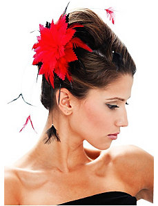 Black and Red Hair Clip by Paper Magic Group