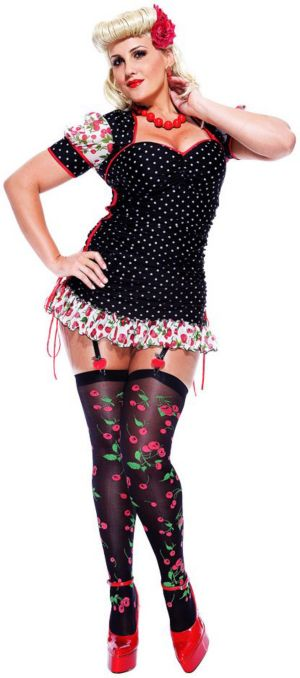 French Kiss Pinup Girl Costume