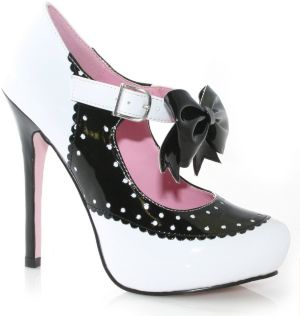 Sweetie (Black/White) Shoes