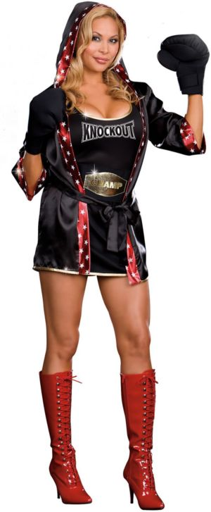 TKO: Total Knock Out (Convertible) Adult Costume
