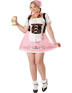 Fetching Fraulein Plus Adult Costume by In Character Costumes