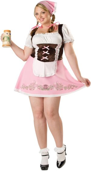 Fetching Fraulein Plus Adult Costume