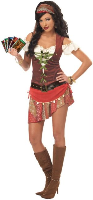 Mystic Gypsy Plus Adult Costume