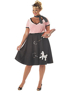 50's Sweetheart Adult Plus Costume by California Costume Collection