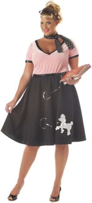 50's Sweetheart Adult Plus Costume