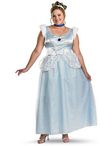 Cinderella Deluxe Plus Adult Costume by Disguise
