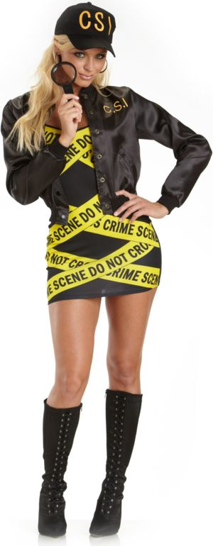 CSI Adult Plus Costume