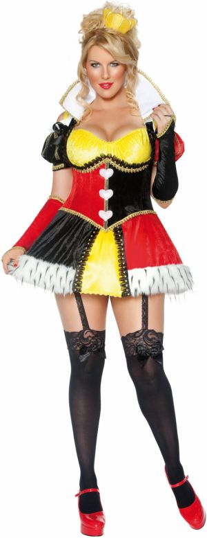 Whimsical Queen of Hearts Costume