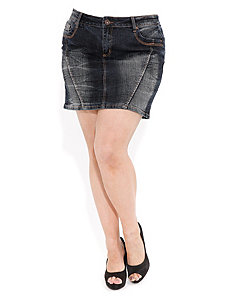 Distressed Wash Mini by City Chic